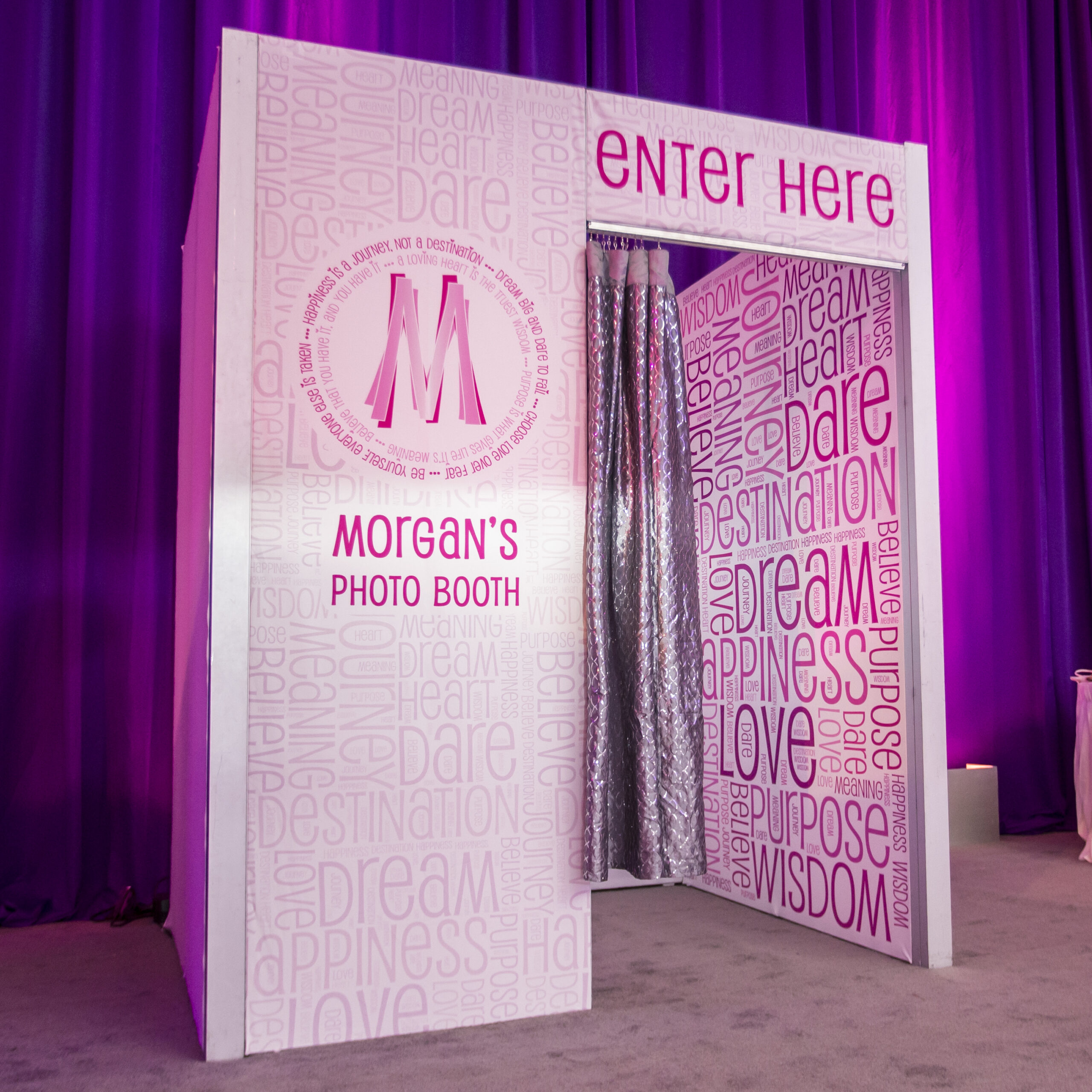 Custom Wrapped Super Booth